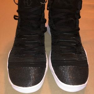 New Nike Hyperdunk Flyknit Black Chrome Shoes